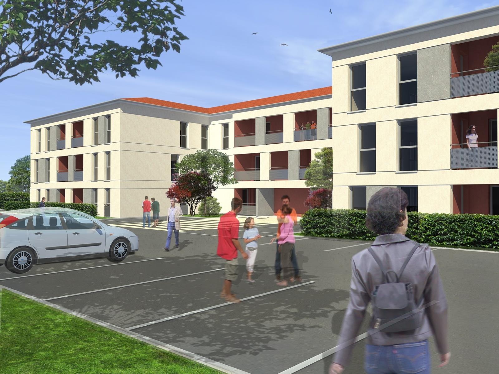 Création d'un immeuble collectif à Saint-Hilaire (31)